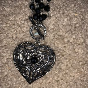 Short to Long heart necklace cookie lee